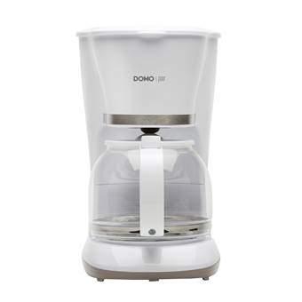 Domo DO476K PUUR Koffiezetapparaat Koffie Wit Glas