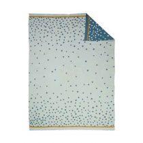 Done by Deer Happy Dots Babydeken 80 x 100 cm Kinderbeddengoed Blauw Katoen
