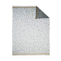 Done by Deer Happy Dots Babydeken 80 x 100 cm Kinderbeddengoed Grijs Katoen