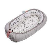 Done by Deer Happy Dots Cozy Nest Babybedje Baby & kinderkamer Grijs