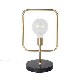 Dutchbone Cubo Tafellamp Verlichting Goud Marmer