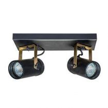 Dutchbone Scope 2 Spot Verlichting Zwart Glas