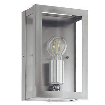 EGLO Alamonte Wandlamp Buitenverlichting Grijs RVS