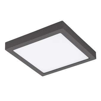 EGLO Argolis LED Wand/Plafondlamp Buitenverlichting Grijs Aluminium