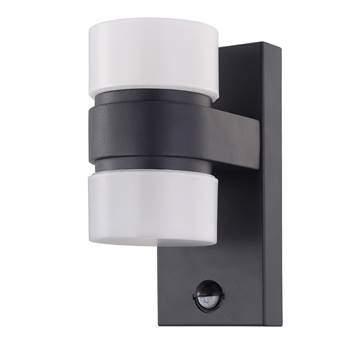 EGLO Atollari LED Wandlamp met sensor Buitenverlichting Grijs Aluminium