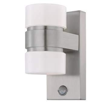 EGLO Atollari LED Wandlamp met sensor Buitenverlichting Grijs