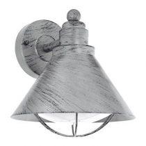 EGLO Barrosela Wandlamp Buitenverlichting Zilver Staal