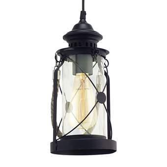EGLO Bradford Hanglamp Verlichting Zwart Staal