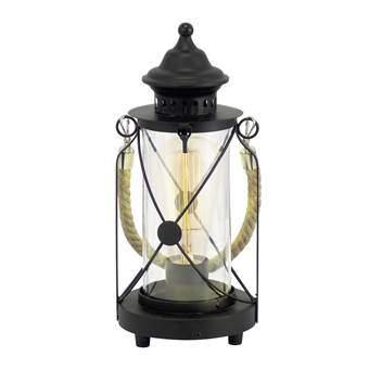 EGLO Bradford Tafellamp Verlichting Zwart Staal