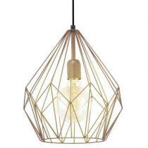 EGLO Carlton Hanglamp Verlichting Koper Staal