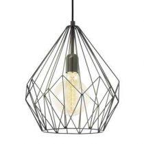EGLO Carlton Hanglamp Verlichting Zwart Staal