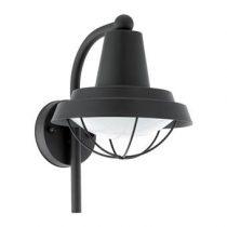EGLO Colindres Wandlamp Buitenverlichting Zwart Staal
