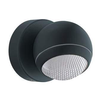 EGLO Comio LED Wandlamp Buitenverlichting Grijs Staal
