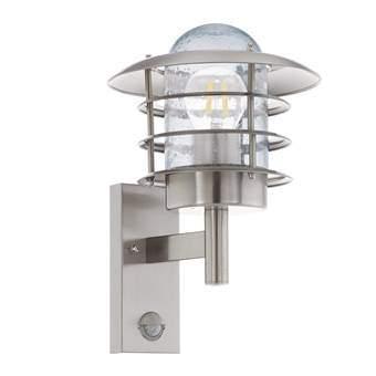 EGLO Mouna Wandlamp met sensor Buitenverlichting Grijs RVS