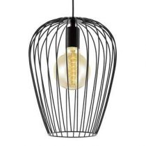 EGLO Newtown Hanglamp Verlichting Zwart Staal