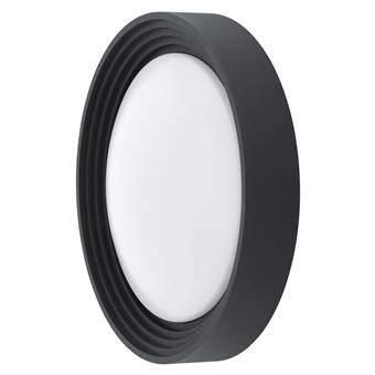 EGLO Ontaneda LED Wand/Plafondlamp Buitenverlichting Zwart Kunststof