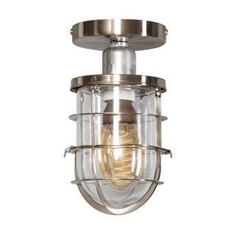 ETH Matino Plafondlamp Verlichting Zilver Glas