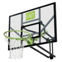 EXIT Galaxy Wand Basketbalring met dunkring Buitenspeelgoed Groen