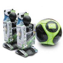 EXIT Striker Streetsoccer (2st.) + EXIT Voetbal Buitenspeelgoed Zwart Kunststof