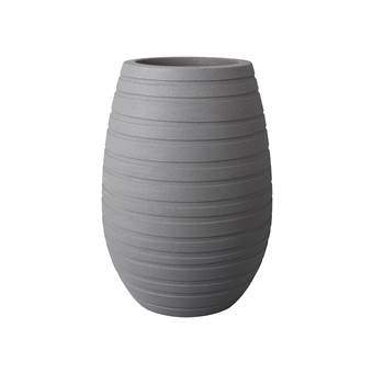 Elho Allure Ribbon Vase Bloempot 43 cm  Bloempotten Grijs Hout