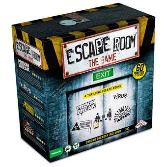 Escape Room The Game Bordspellen Multicolor Karton