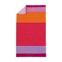 Esprit Dakoy Strandlaken 100 x 180 cm Badtextiel Roze Velours