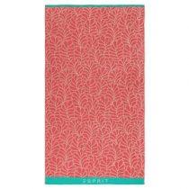 Esprit Leaf Standlaken 100 x 180 cm Badtextiel Roze Katoen