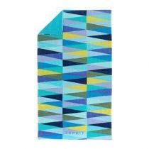 Esprit Pyramid Strandlaken 100 x 180 cm Badtextiel Blauw Velours