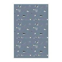 Esthex Pinguïn Behang Wanddecoratie & -planken Grijs Papier