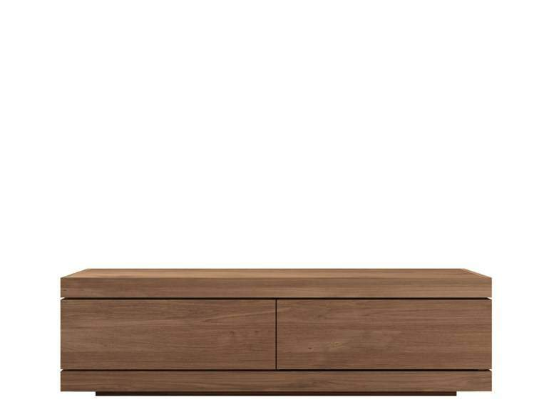 Ethnicraft Burger TV Cupboard teak tv meubel SmallWoonkamer