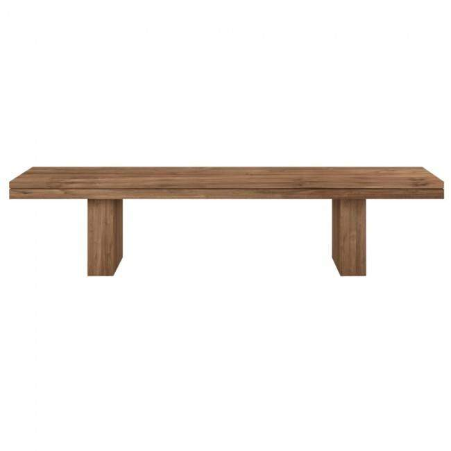 Ethnicraft Double Bench bank 220x40 cmWoonkamer