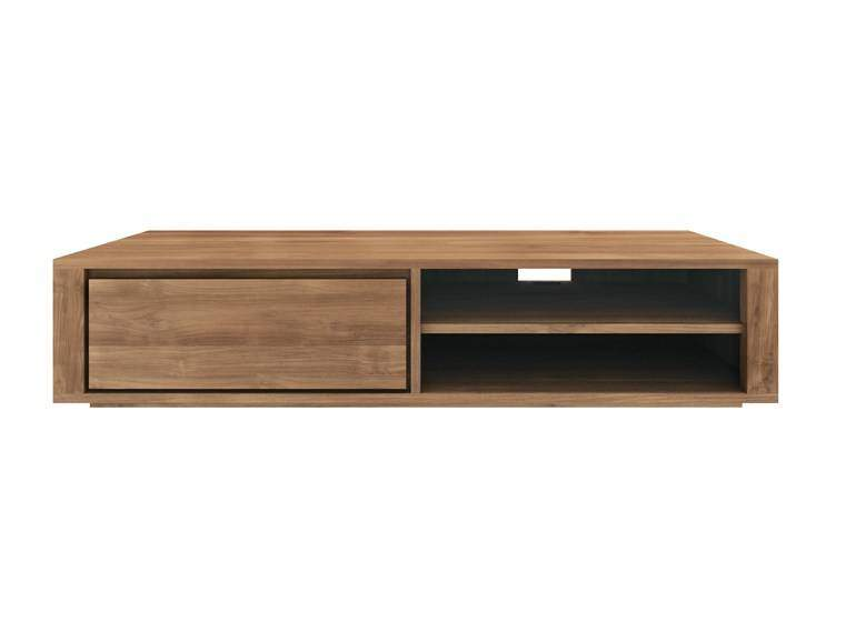 Ethnicraft Elemental TV Cupboard tv meubel 1x ladeWoonkamer