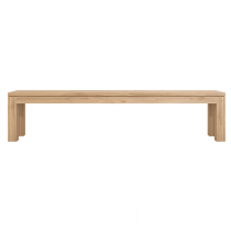 Ethnicraft Straight Bench bank 140x35 cmWoonkamer