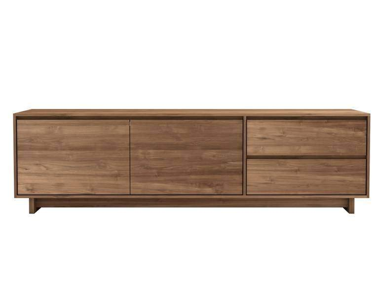 Ethnicraft Wave TV Cupboard teak kastWoonkamer