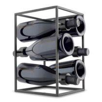 Eva Trio Wijnrek Wijn & bar Zwart Metaal