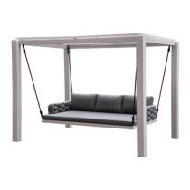 Exotan Pacha Swing Loungebank Tuinmeubelen Antraciet