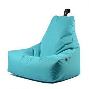 Extreme Lounging B-bag Mighty-b Outdoor Zitzak Zitzakken & loungekussens Blauw Polyester