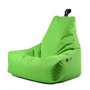 Extreme Lounging B-bag Mighty-b Outdoor Zitzak Stoelen Groen Polyester