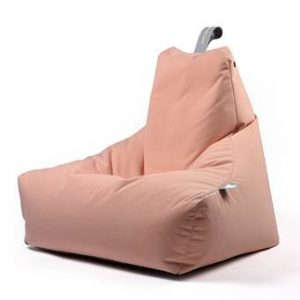 Extreme Lounging B-bag Mighty-b Outdoor Zitzak Zitzakken & loungekussens Oranje Polyester