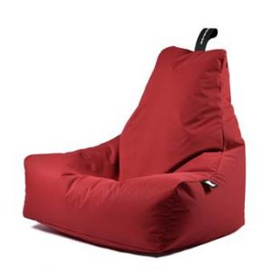 Extreme Lounging B-bag Mighty-b Outdoor Zitzak Stoelen Rood Polyester