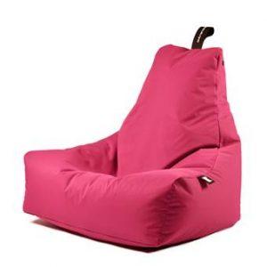 Extreme Lounging B-bag Mighty-b Outdoor Zitzak Zitzakken & loungekussens Roze Polyester