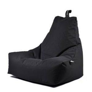 Extreme Lounging B-bag Mighty-b Outdoor Zitzak Zitzakken & loungekussens Zwart Polyester