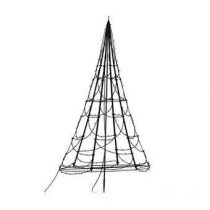Fairybell LED-lichtjesboom Tuindecoratie Zwart Kunststof
