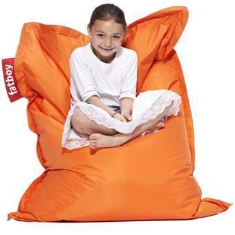Fatboy Junior Zitzak Zitzakken & loungekussens Oranje Textiel