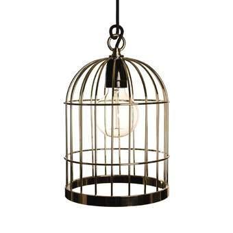 FilamentStyle Bird Cage Hanglamp Verlichting Goud