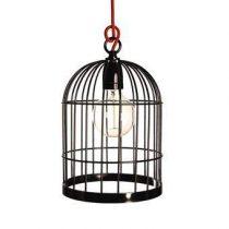 FilamentStyle Bird Cage Hanglamp Verlichting Rood