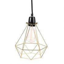 FilamentStyle Diamond #1 Tafellamp Verlichting Goud Staal