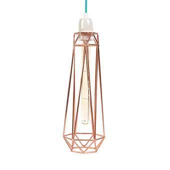 FilamentStyle Diamond #2 Hanglamp Verlichting Blauw