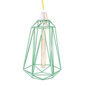 FilamentStyle Diamond #5 Hanglamp Verlichting Geel