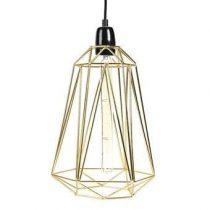 FilamentStyle Diamond #5 Hanglamp Verlichting Goud Staal